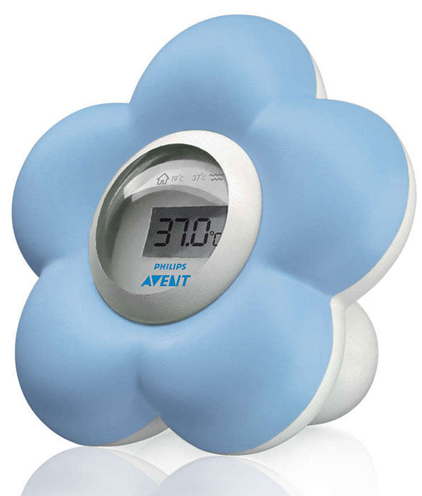 Avent Digital Bath and Room Thermometer Blue