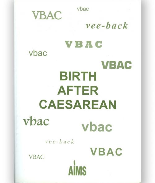 Birth After Caesarean book