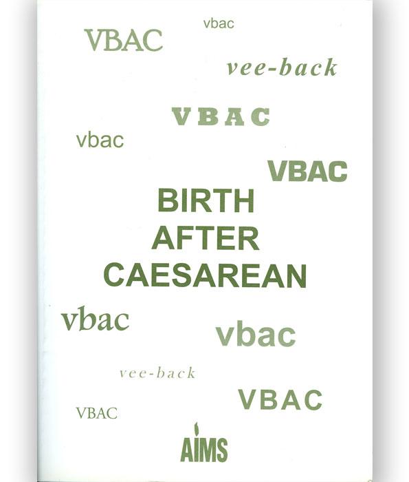 Birth After Caesarean book
