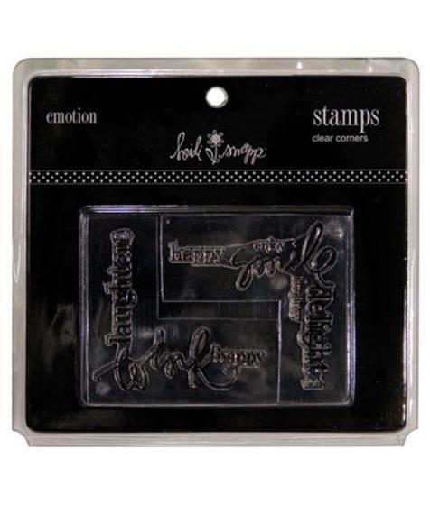 Heidi Swapp Stamp Emotion Corners