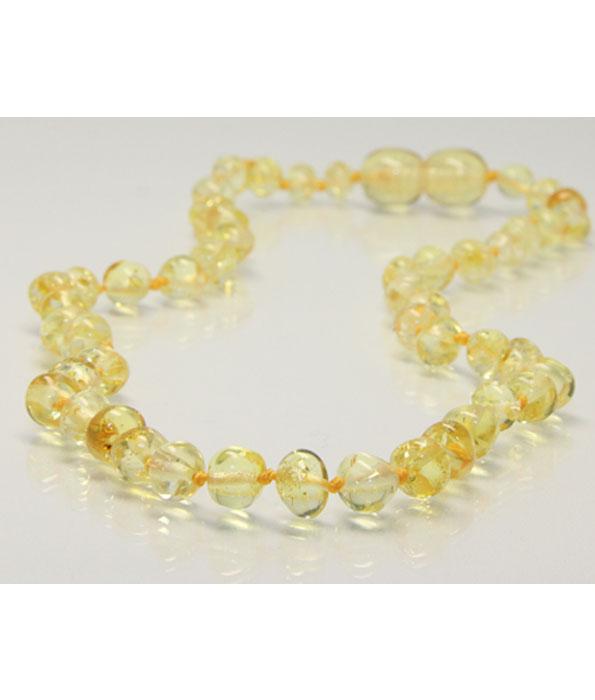 Amberbebe Baltic Amber Necklace Lemon