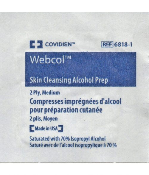 Skin Cleansing Alcohol Wipe