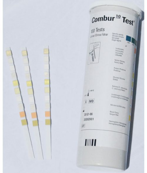 Combur 10 Test Strips