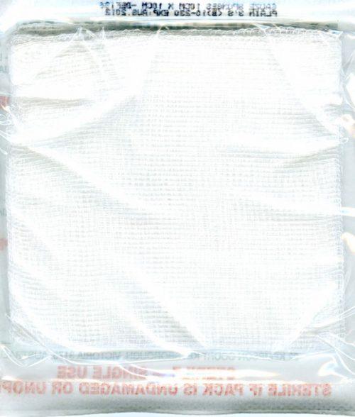 Gauze Squares Sterile 10cm x10cm