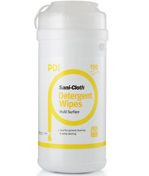 Sani-Cloth Detergent Wipes 150 Count Canister