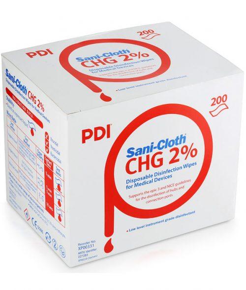 Sani-Cloth 70% Alcohol 2% CHG Wipe 200 Sachets