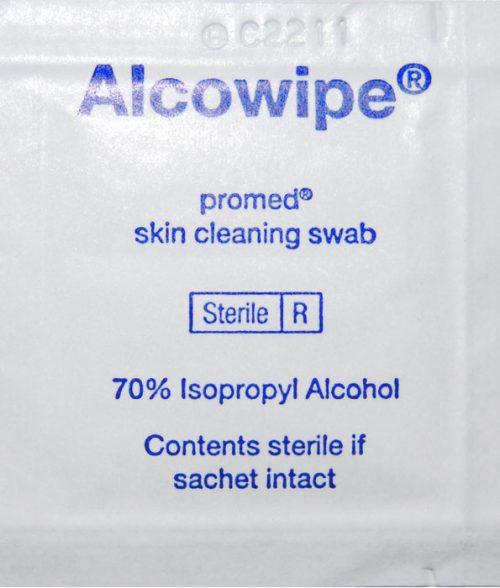 Promed Alcowipe Skin Swab