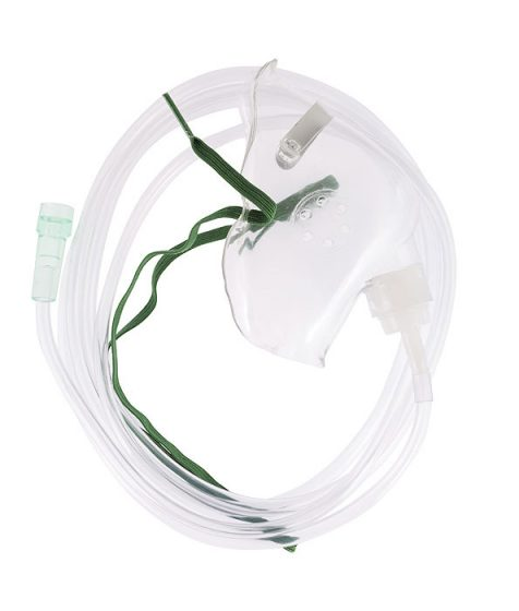 Adult Oxygen Mask with 2.1m Tubing