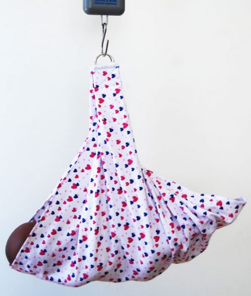 Sling for Hanging Scale Hearts
