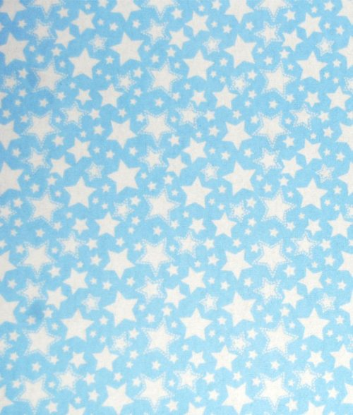 Sling for Hanging Scale Light Blue with Star