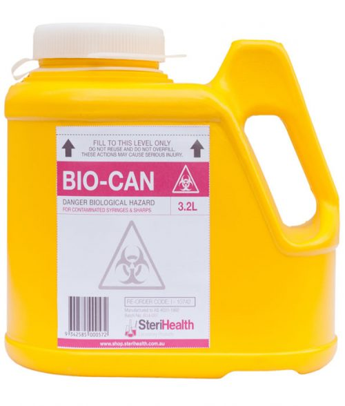 Sharps Container 3.2 Litre