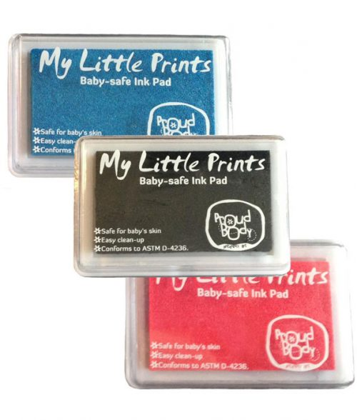 My Little prints baby safe ink pads