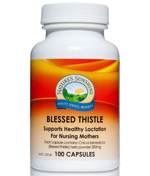 Nature's Sunshine Blessed Thistle 100 Capsules 300 mg