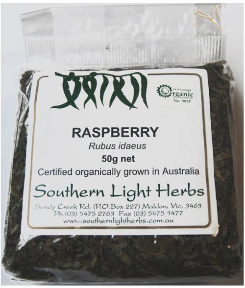 Raspberry Leaf 50gm Certified Organic