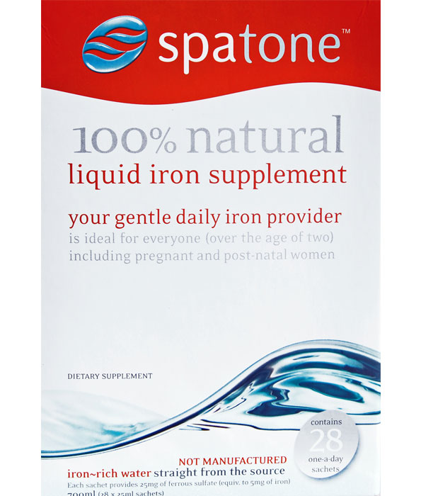 Spatone liquid iron supplement 28 sachets