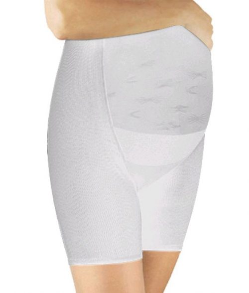 Pregnancy shorts White