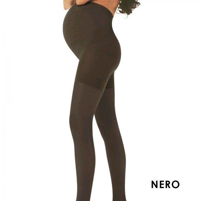 Pregnancy Stockings Sheer Black