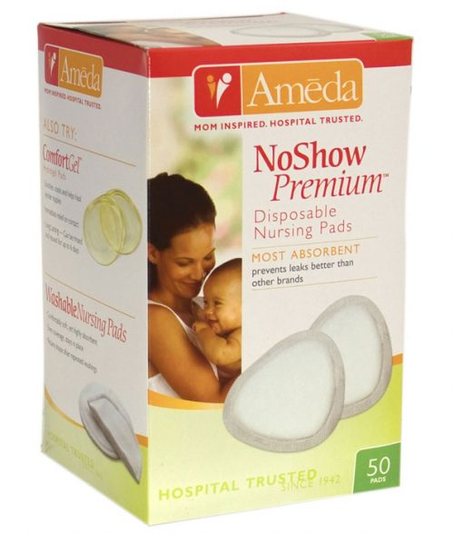Ameda NoShow Premium Disposable Nursing Pads