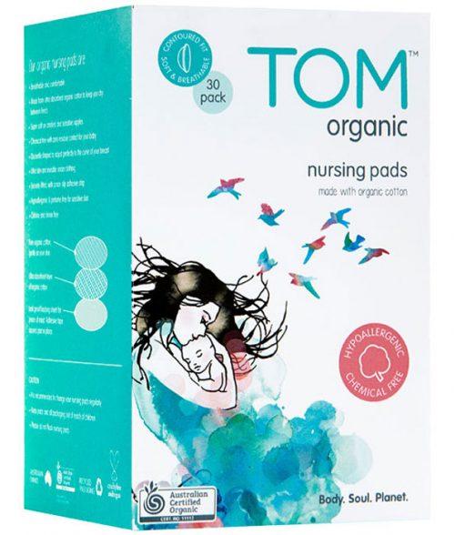 TOM Organic Nursing Pads 30 Pack