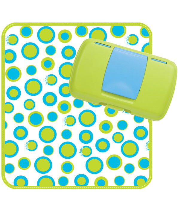 BP032 B.Box Nappy Wallet Retro Circles 1