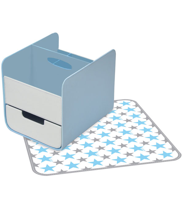 B.Box Nappy Caddy Blue Lagoon