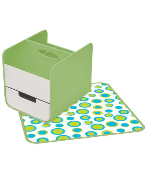 B Box Nappy Caddy Retro Chic