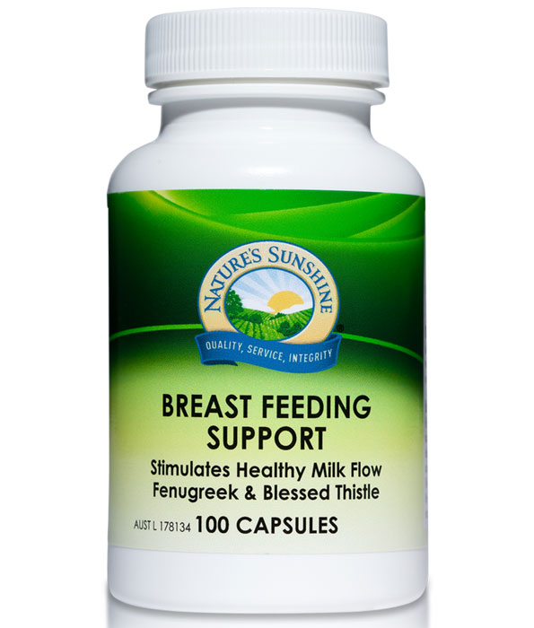 Nature's Sunshine Breast Feeding Support Capsules