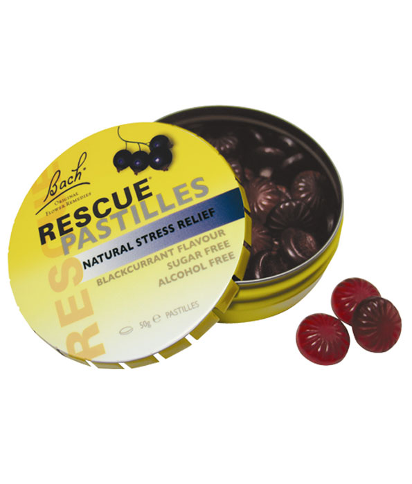 Bach Rescue Remedy Pastilles Black Currant 50g