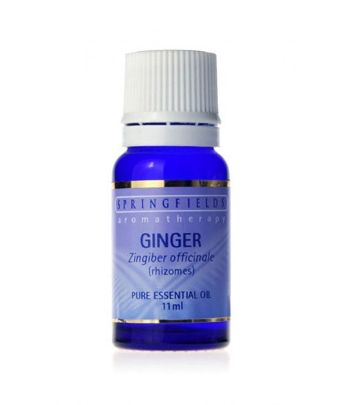 Springfields Ginger Essential Oil 11ml