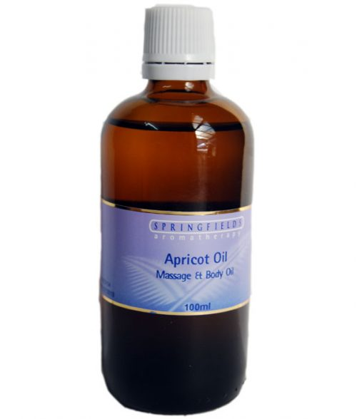 Springfields Apricot Carrier Oil 100ml