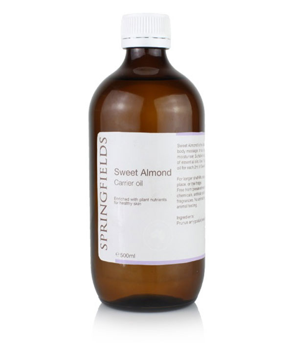 Springfields Sweet Almond Oil 500ml