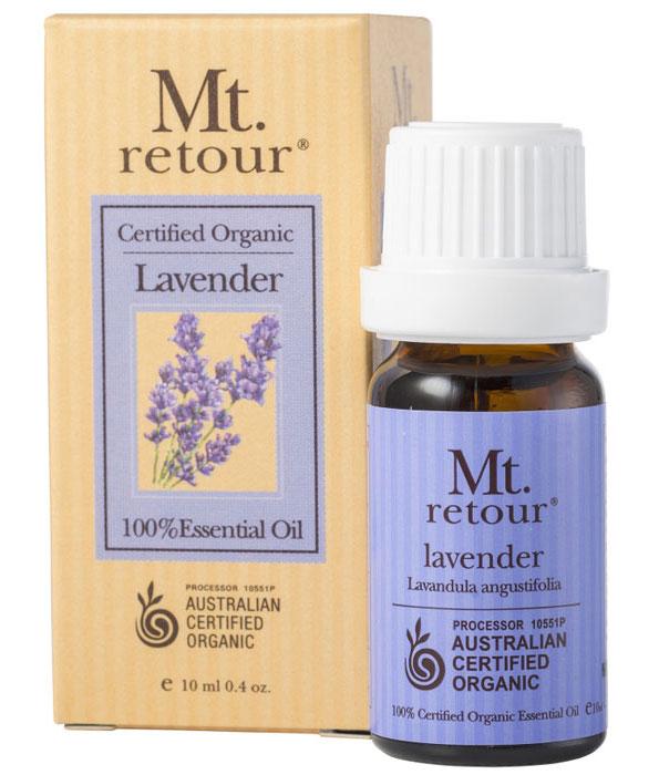 Mt Retour Organic Lavender Essential Oil 10ml
