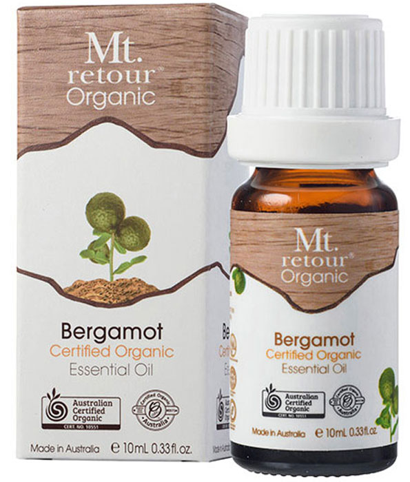 Mt Retour Organic Bergamot Essential Oil 10ml