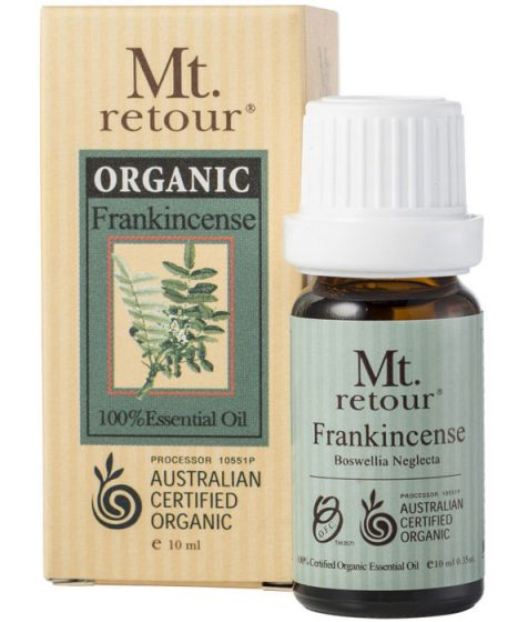 Mt Retour Organic Frankincense Essential Oil 10ml