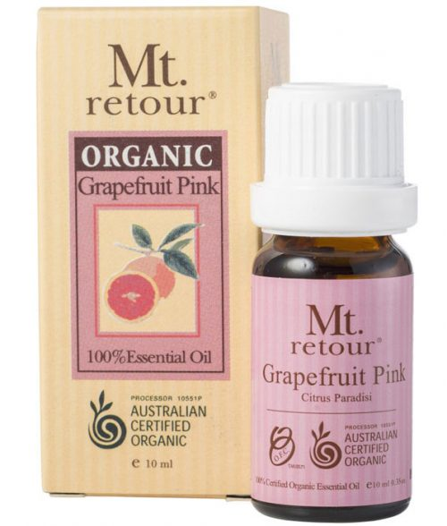 Mt Retour Organic Grapefruit Pink Essential Oil 10ml