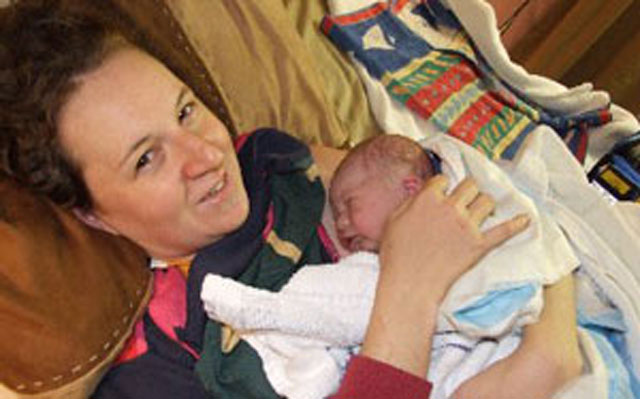 An unplanned homebirth story