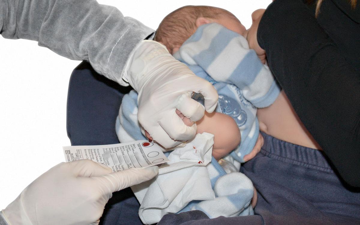 newborn bloodspot screening