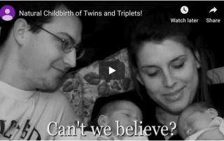 Natural Birth of Twins and Triplets Video