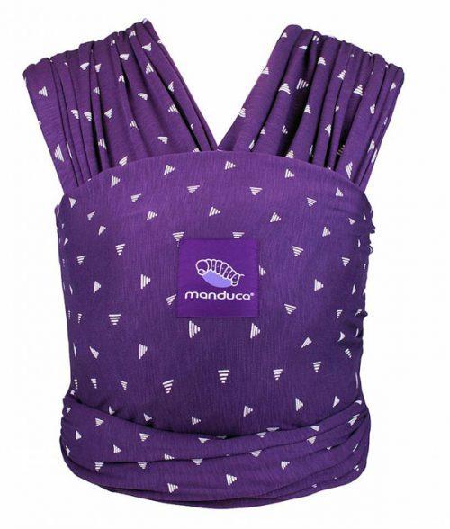 Manduca Purple Darts Sling