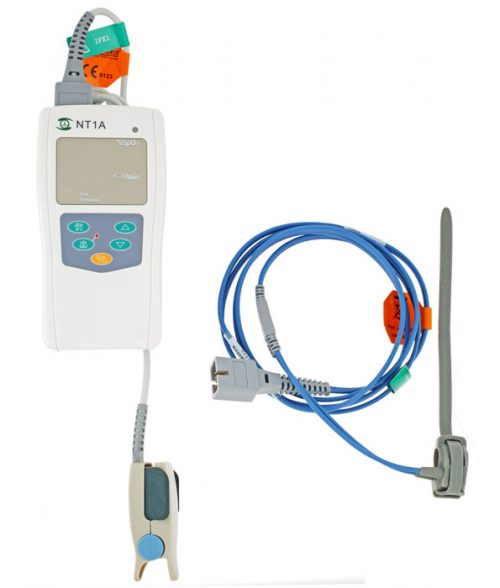 Solaris NT1A Pulse Oximeter with Neonatal Wrap Sensor