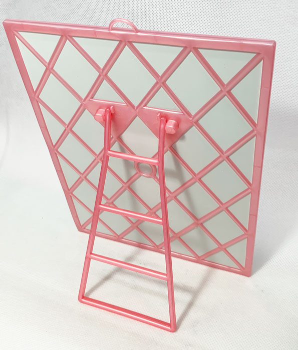 Birth Mirror with Stand Pink