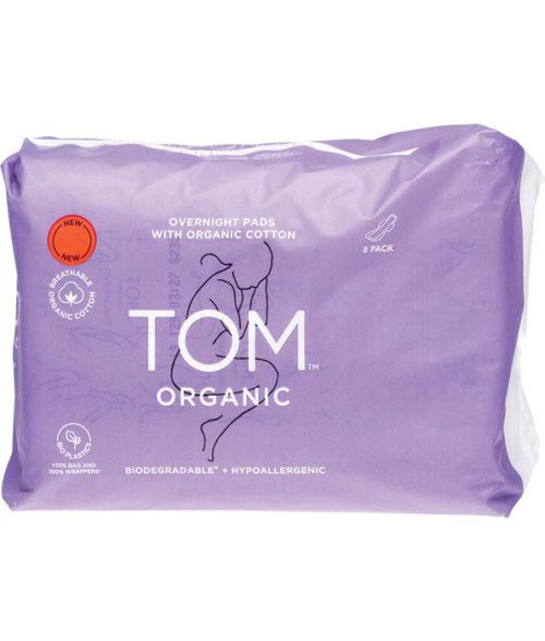TOM Organic Overnight Pads