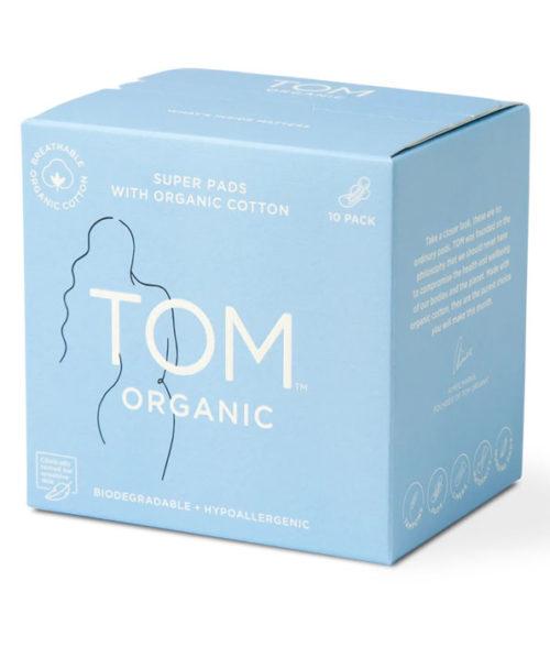 TOM Organic Super Ultra Thin Pads