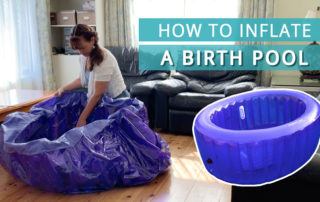 How to inflate a birth pool video