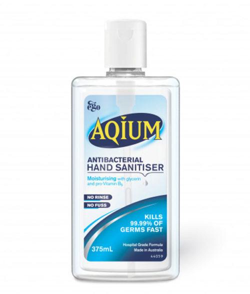 Aqium Antibacterial Hand Sanitiser 60ml