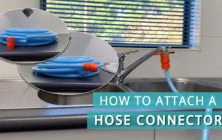 How to attach a hose connector to a hose