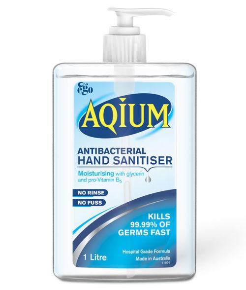 Aquium Antibacterial Hand Sanitiser 1 litre