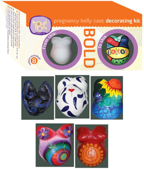 bold belly cast decorating ideas