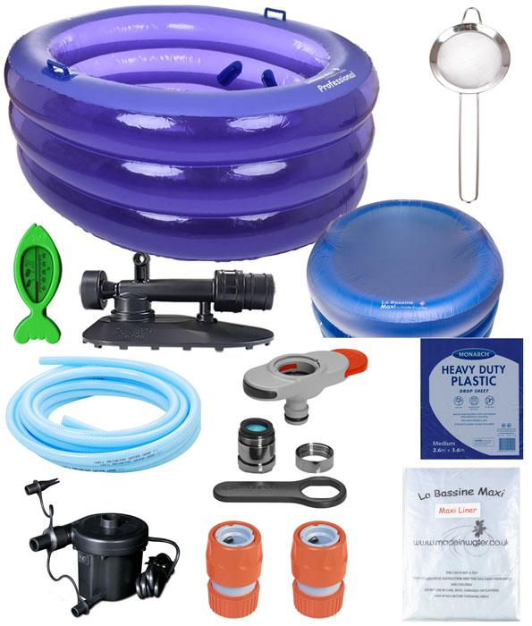 La Bassine Maxi Professional Birth Pool Deluxe Kit