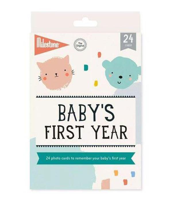 Milestone Baby's First Year Photo Card Set